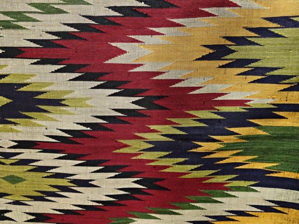 Wandbehang Wandteppich Seide handgewebt
