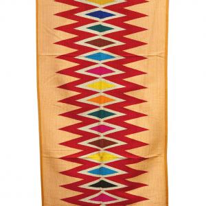 Wandbehang schmal, zick zack design, Rangrang
