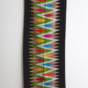 Wandbehang, Läufer, Ziick Zack Design