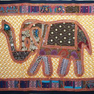 Wandbehang Elefant