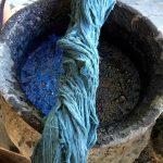 Indigo färben