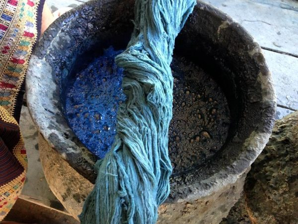 fair & handgefertigt - Indigo färben - talking textiles