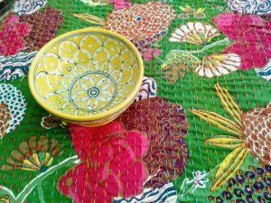 Decke und Keramik