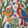 Wandbehang_Wandtteppich_KAntha_weiss_Vogel_talking_textiles_3