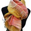 Rohseidenschal_gold_weiß_lachs_talking_textiles_4