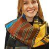 Seidenschal_schwarz_gold_türkis_braun_talking_textiles_1