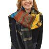 Seidenschal_schwarz_gold_türkis_braun_talking_textiles_2