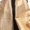 Seidenschlal_gelb_weiß_talking_textiles_2