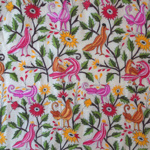 Wandbehang Vögel