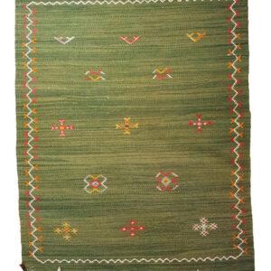 Berber Teppich grün
