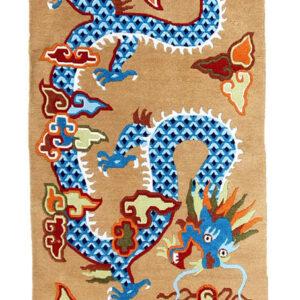 Tibetischer Drachenteppich
