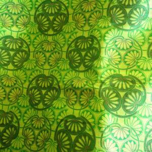 Rohseide grün