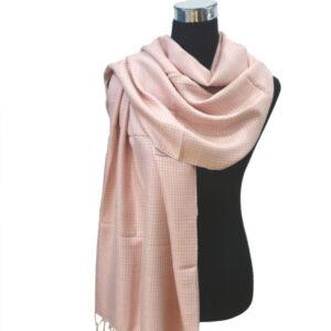 Mud Dye Schal rosa
