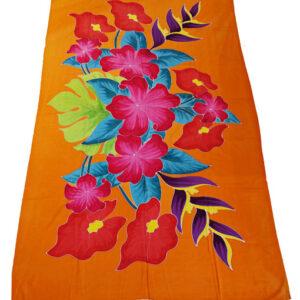 Batik Sarong orange