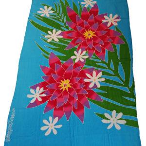 Batik Sarong türkis