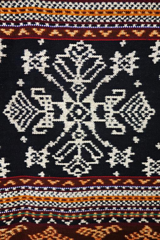Wandbehang Ikat