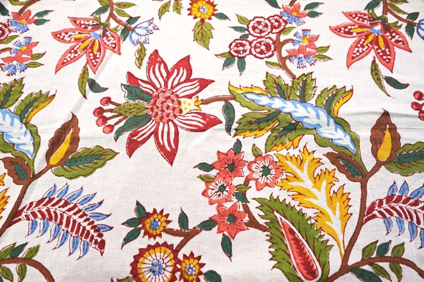 Handblockdruck_Kimono_detail