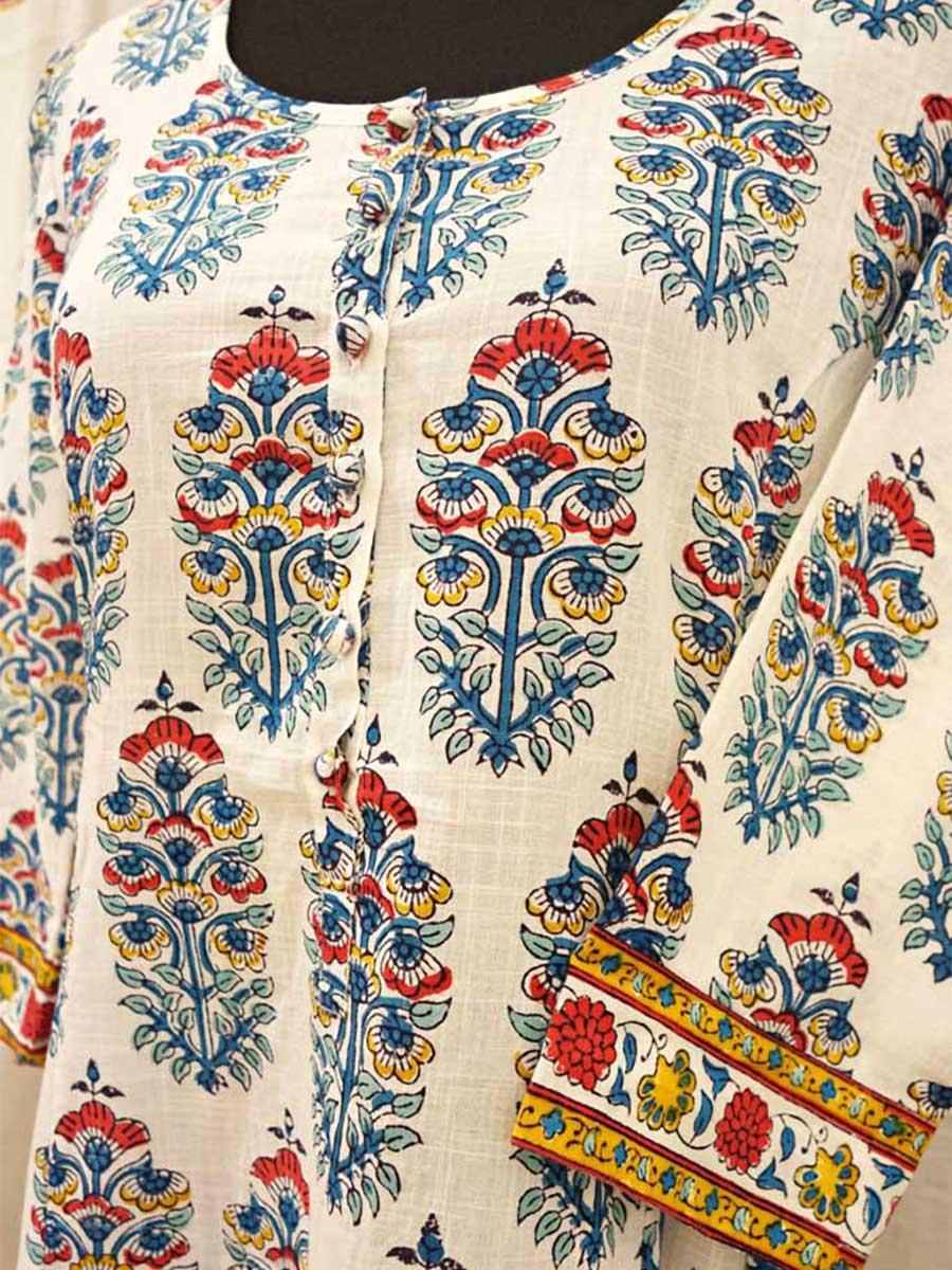 Kleid Weiß Detail