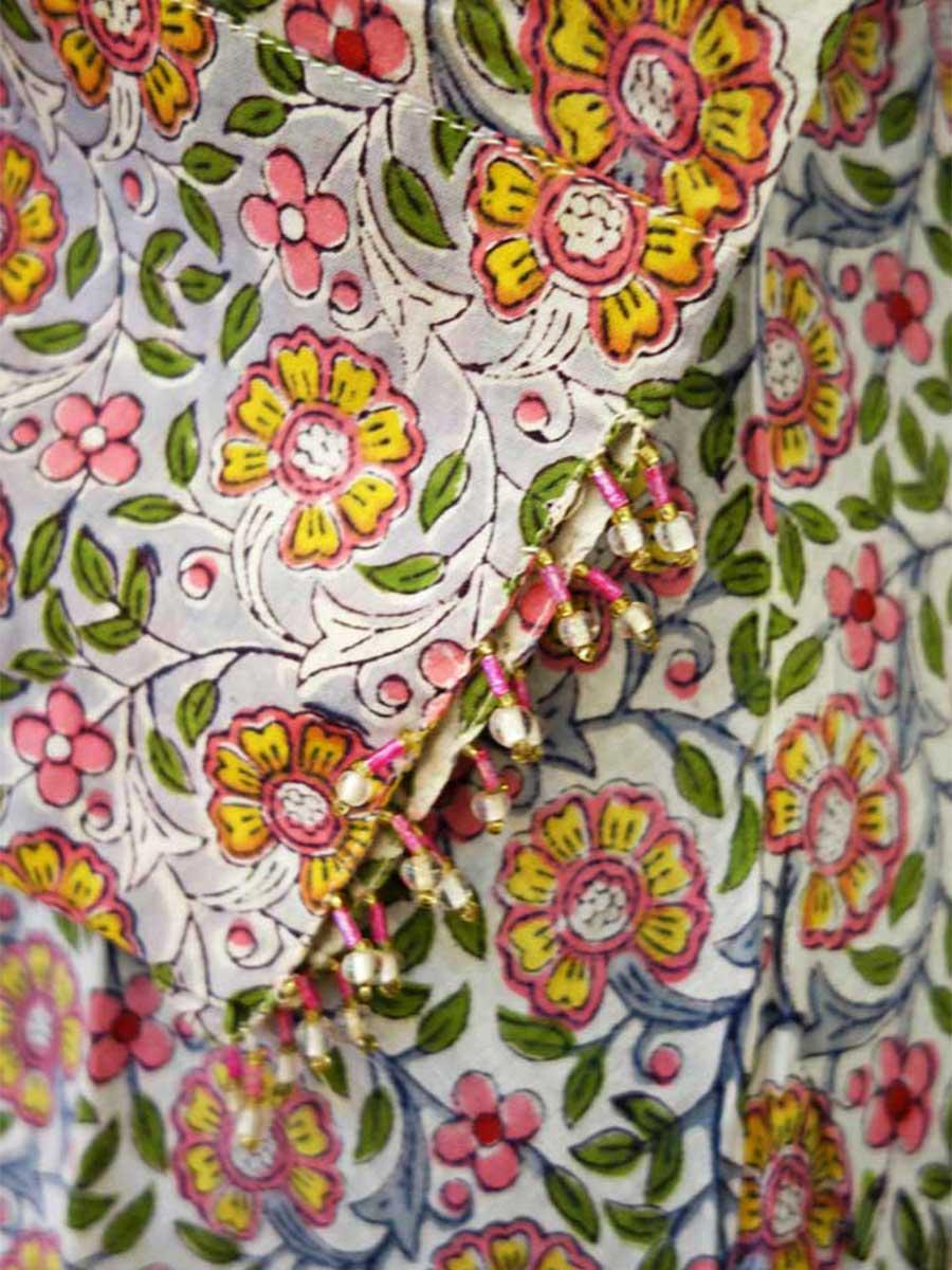 Tunika gemustert Detail
