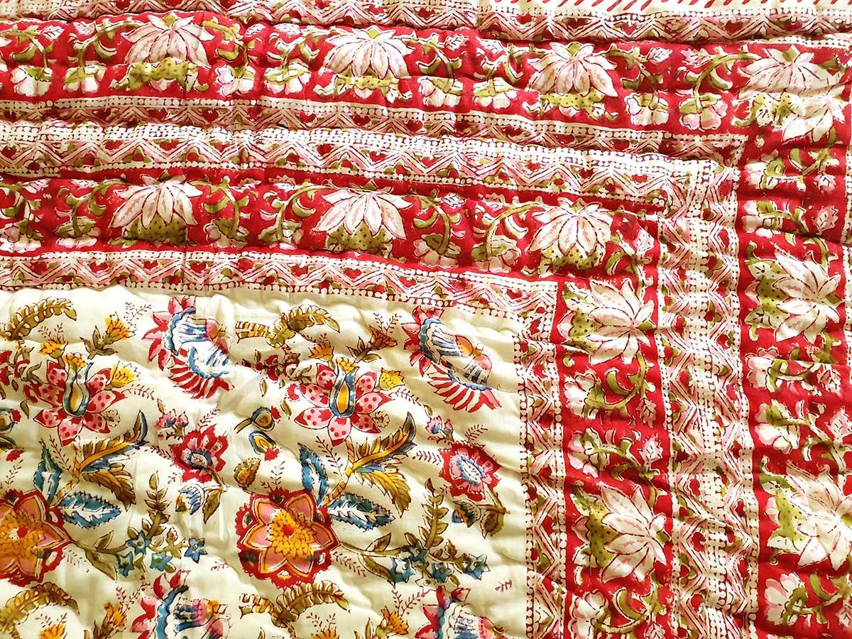 Decke rot Detail