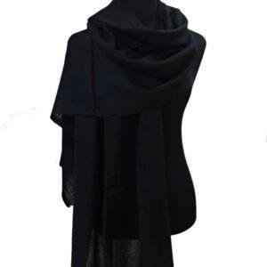Kaschmirschal schwarz